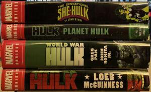 Marvel Omnibus Lot:Planet Hulk, World War Hulk, She-Hulk etc. By G.Pak , J.Byrne