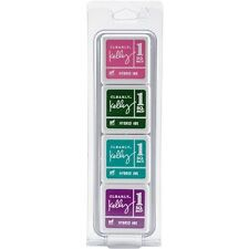 Hero Arts Clearly Kelly Hybrid Ink Cubes 4 Colors - 241811