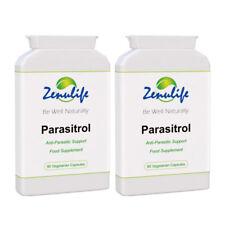 PARASITROL Parasite Colon Cleanse Formula Parasites Worms 2 Bottles - Made in UK