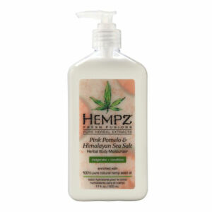 Hempz Pink Pomelo Himalayan Sea Salt Herbal Body Moisturizer 17.0 oz Brand New