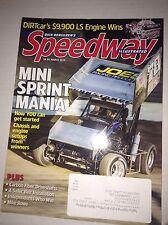 Speedway Illustrated Magazine Mini Sprint Mania March 2016 040617NONRH