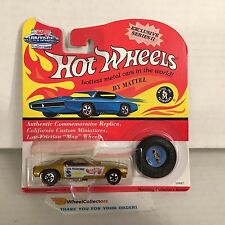 #9 DON SNAKE PRUDHOMME * GOLD Barracuda * Hot Wheels Vintage Collection * NF7