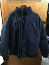 Men's Black Marmot Large Goose Down Waterproof Goretex Expedition Jacket