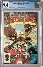 SECRET WARS VOL 1  #9 -  CGC NM (9.4) / WHITE PAGES / MINT CASE