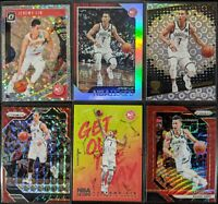 Lot of (6) Jeremy Lin, Including NBA Hoops /199, Optic/Prizm/Revolution parallel