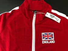 NEW - Yess SGH Unisex ENGLAND Long Sleeve Zipper Jacket (L) ~ NEW WITH TAGS