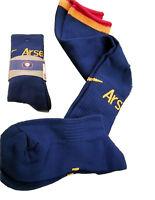 NIKE ARSENAL Football Socks Blue Youth Boys Girls UK 2.5-7 Eur 35-41