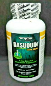 Dasuquin MSM for Small to Medium Dogs (84 Chewable Tablets), 05/2023, /#0217