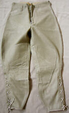 WWI US ARMY WOOL INFANTRY M1917 COMBAT FIELD BREECHES TROUSERS-SMALL