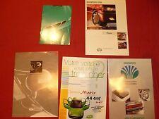 N°5409  /  DAEWOO   lot de 5  catalogues 1996-2002