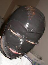 100% latex Gummi Maske/Hood/Mask 0,45mm/Ganzanzug/Kostüm