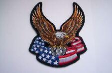 Biker-Patch Flying American Engine Eagle ca 8x9 cm
