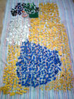 1.4 kg lego assorted  bricks and pieces all seperated shown on  9 pictures