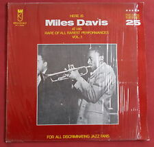 MILES DAVIS LP ORIG ITALY RARE OF ALL RAREST PERFORMANCES