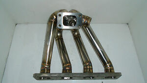 Ford Cosworth T3 turbo manifold to fit gtx3076r gt3582r efr7670 efr8374