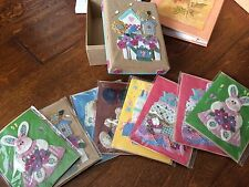 8 3D embellished blank cards w/ envelopes,Anne Geddes address book,2nd address b