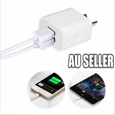 2A Australia USB Ports Wall Charger Adapter Plug IPhone7 6S 6 5C 5S IPOD Samsung