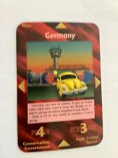 "Illuminati New World Order ""Germany"" Card Game NrM"