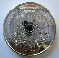2011 CANADA 100th ANN OF CANADIAN NATIONAL PARKS BU SILVER DOLLAR COIN