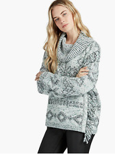 Lucky Brand Turtle Neck Sweater Thick Women's Size Large- NWT $129