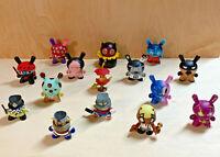 Lot of 15 Kidrobot Dunny Figures