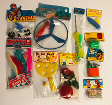Dimestore Plastic Games, Gag and Magic Toys Lot of 10 Vintage 1960's Hong Kong