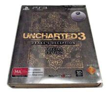 Uncharted 3: Drake's Deception Special Edition Sony PS3