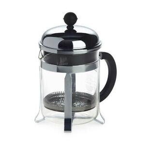 Bodum Chambord 500mls  4 Cups Coffee Maker BLACK CHROME BNIB FOODIES CAFE