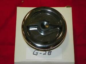 Dodge Plymouth 1966-1970 NOS Stant Zinc Plated Fuel Gas Cap G-28 Made in USA