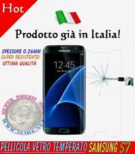 Pellicola Vetro Temperato Samsung Galaxy S7 G930 Trasparente Proteggi schermo S7