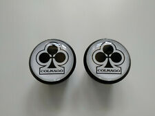 Colnago Club white Plugs Caps Tapones guidon bouchon lenker vintage style 3D