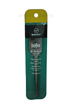 "Heller 28mm x 152mm Flat Wood Bit QuickBit 1/4"" HEX - High Quality German Tools"