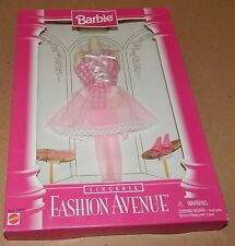 Barbie Fashion Avenue Collection Real Clothes Lingerie Mattel 14292 NIB 96 121S