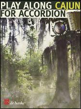 Play Along Cajun for Accordion Sheet Music Book & CD