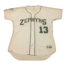 2010-2016 New Orleans Zephyrs #13 Game Used White Jersey Baseball Houston Astros