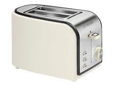 WOW Bomann Toaster 2 Scheiben TA 1567 Creme-inox