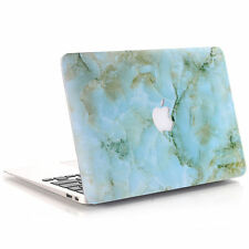 """Marble Quicksand Silk Gold Rainbow Hard Case Cover For MacBook Pro Air 11""""/13"""""""