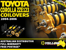 YELLOW-SPEED RACING COILOVERS Toyota Corolla ZZE123 04-06 yellowspeed coil over