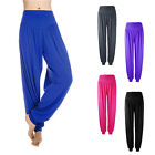 Women's Soft Comfy Spandex Yoga Sports Fitness Gym Athletic Running Pants E07