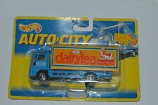1995 Hot Wheels AUTO CITY Corgi Cargo Truck Kraft Dairylea International Card