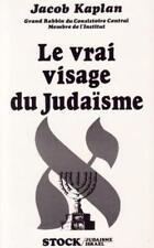 Le vrai visage de judaïsme - Jacob Kaplan - Stock - 1987