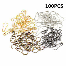100PCS Needle Clip Knitting Craft Stitch Copper Markers Locking Pin Crochet Tool