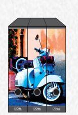 registratore documenti protocollo D8 Moto Piaggio Vespa R80 3 Pezzi 0026337 Card
