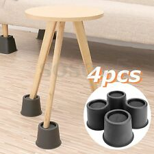 4Pcs Chair Bed Riser Elephant Feet Lift Furniture Extra Raiser Stand Load 300KG