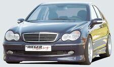 Rieger Frontspoilerlippe für Mercedes Benz C-Klasse W203 Avantgarde