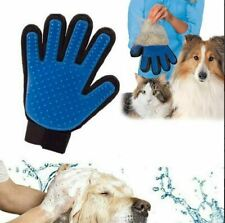 1 Handschuh Pflege Fell Tierhaar Hunde Katzen Bürste Fellpflegehandschuh Massage