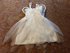 Toddler Girl's Princess Expressions Angel Fairy Halloween Costume w/ Wings, Med.