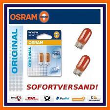 2X OSRAM Original Line WY5W Blinkerbirnen Seitenblinker Opel Adam Agila Corsa