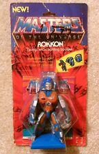 Vintage 1980s He-Man MOTU - Original ROKKON Figure - Mint on Card / Unused