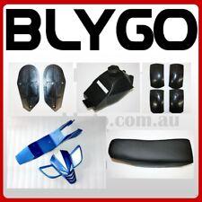 BLUE Plastics Fairing Fuel Tank Seat Mud Guard Foot Rest 49cc Quad Dirt Bike ATV